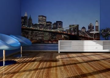 Afbeelding van Fotobehang Brooklyn Bridge AG-design FTS 0107