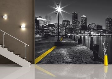 Afbeelding van Fotobehang city by night AG-design FTS 1317