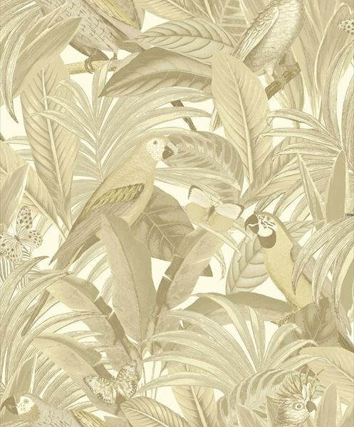 behangpapier jungle beige Botanical