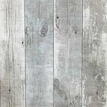 Hout behang Noordwand Assorti 68614