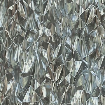 3D behang metallic grijs Dutch Wallcoverings Idea of Art