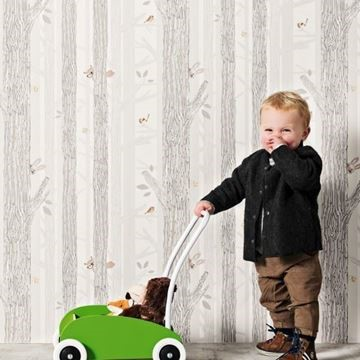 Behangpapier bos BN-Wallcoverings Smalltalk