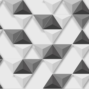 Dutch Wallcoverings Hexagone 3d behang L57509