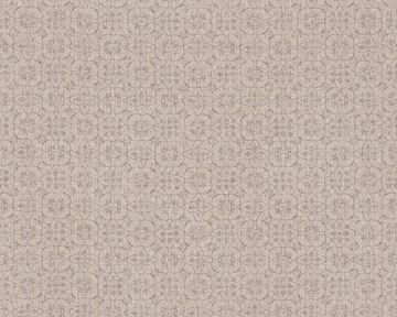 AS Creation Hygge landelijk bloemen behang taupe 36383-3