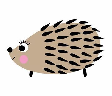 Fotobehang Noordwand Fabulous World Hedgehog 8007A