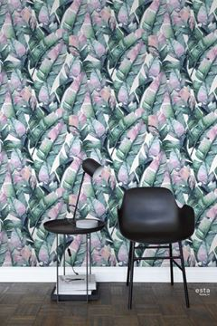 Esta Jungle Fever WallpaperXXL Banana leaves als accentwand