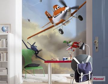 Fotobehang Komar Disney Planes Dusty and friends