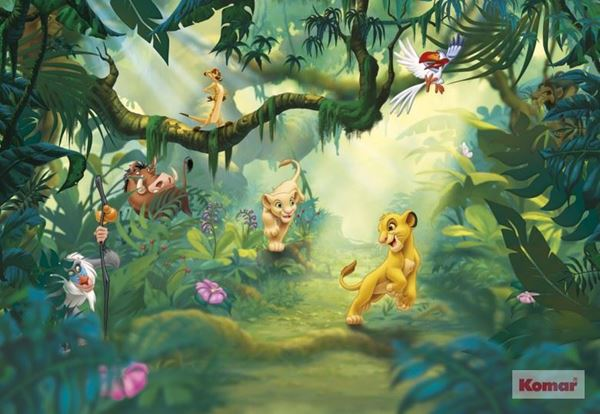 Fotobehang Komar Disney Lion King Jungle 8-475