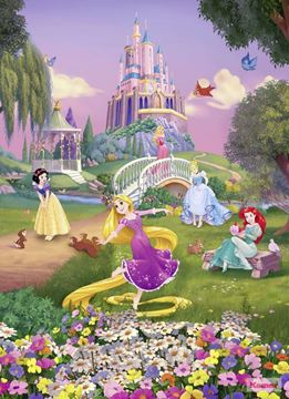 Fotobehang Komar Disney Princess Sunset 4-4026