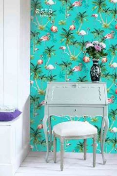 Esta Home WallpaperXXL Flamingos als accentwand