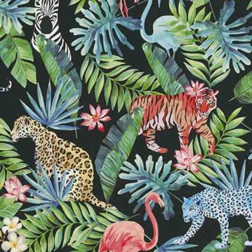 Dutch Collage behang jungledieren 42500-20