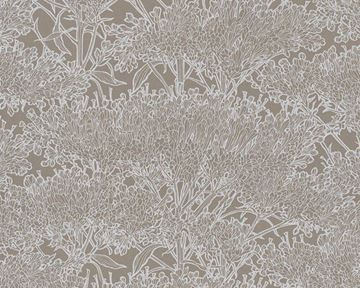 Live In Absolutely Chic behang bloemen taupe 36972-1