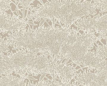Live In Absolutely Chic behang bloemen beige 36972-4